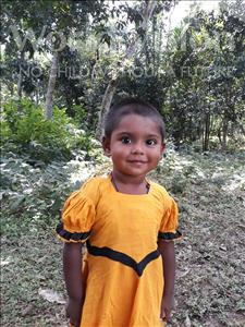 Choose a child to sponsor, like this little girl from Ghoraghat, Samira Ruhi age 2