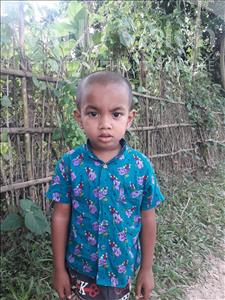 Choose a child to sponsor, like this little boy from Ghoraghat, Asin age 3