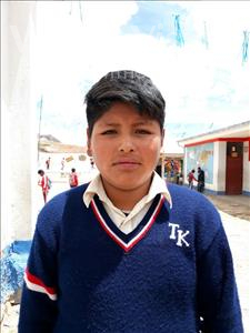 Choose a child to sponsor, like this little boy from Mosoj P'unchay, Cristian Roger age 12