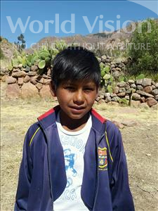 Choose a child to sponsor, like this little boy from Mosoj Punchay, Efrain age 11