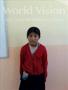 Choose a child to sponsor, like this little girl from Khantati, Nilda age 11