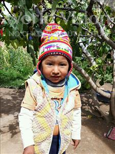 Choose a child to sponsor, like this little boy from Khantati, Darwing Andre age 2