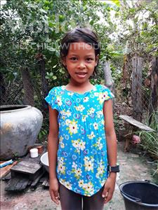 Choose a child to sponsor, like this little girl from Soutr Nikom, Sophany age 9