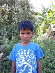 Choose a child to sponsor, like this little boy from Soutr Nikom, Phallith age 7