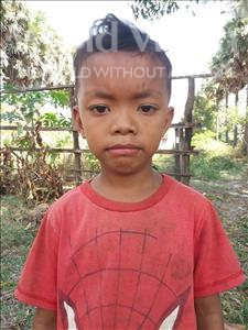 Boramey, aged 7, from Cambodia, is hoping for a World Vision sponsor