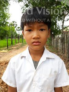 Vanna, aged 7, from Cambodia, is hoping for a World Vision sponsor