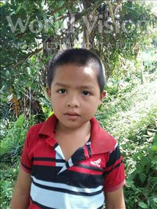 Choose a child to sponsor, like this little boy from Maya, Erix Josue age 7