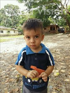 Choose a child to sponsor, like this little boy from Maya, Yenser Jose age 2
