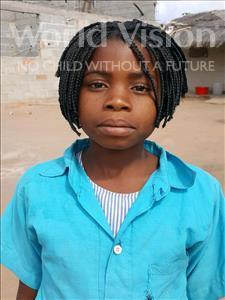 Choose a child to sponsor, like this little girl from Kazuzo, Alice Munez Rajabo age 10