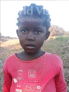 Choose a child to sponsor, like this little girl from Kazuzo, Atimira Jacinto age 7