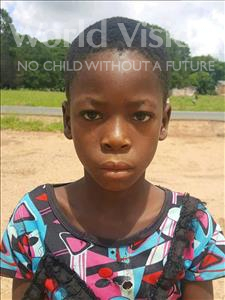 Choose a child to sponsor, like this little girl from Kazuzo, Olivia Lucas age 10