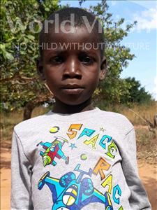Choose a child to sponsor, like this little boy from Kazuzo, Miro Julio age 5