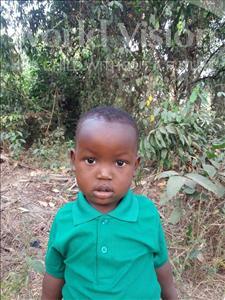 Mohamed, aged 3, from Sierra Leone, is hoping for a World Vision sponsor