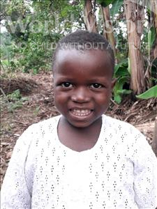 Choose a child to sponsor, like this little boy from Imperi, Sylvanus age 5