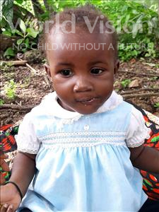 Choose a child to sponsor, like this little boy from Imperi, Lawundeh age 1