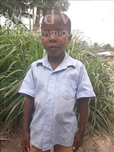 Choose a child to sponsor, like this little boy from Tegloma, Sumaila age 10