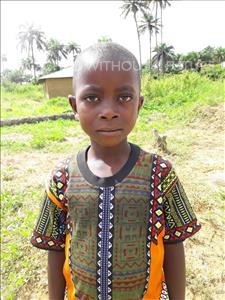 Choose a child to sponsor, like this little boy from Tegloma, Dauda age 7