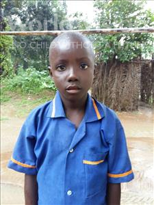 Choose a child to sponsor, like this little boy from Tegloma, Lahai age 5