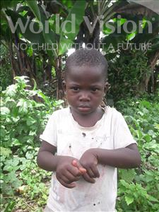 Choose a child to sponsor, like this little boy from Tegloma, Andrew age 3