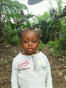 Choose a child to sponsor, like this little girl from Tegloma, Maseray age 2