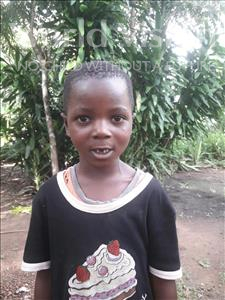 Musa, aged 5, from Sierra Leone, is hoping for a World Vision sponsor