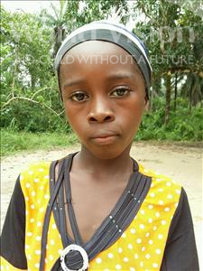 Jebbeh, aged 9, from Sierra Leone, is hoping for a World Vision sponsor