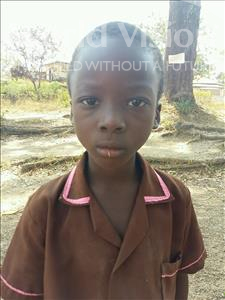 Choose a child to sponsor, like this little boy from Jaiama Bongor, Mustapha age 8