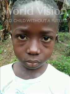 Choose a child to sponsor, like this little boy from Jaiama Bongor, Alhaji age 8