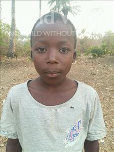 Choose a child to sponsor, like this little boy from Jaiama Bongor, Alusine age 13