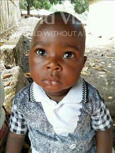 Choose a child to sponsor, like this little boy from Jaiama Bongor, Isac age 1