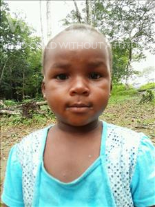 Choose a child to sponsor, like this little girl from Jaiama Bongor, Safula age 4