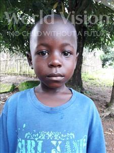 Choose a child to sponsor, like this little Boy from Jaiama Bongor, Mamadu age 5