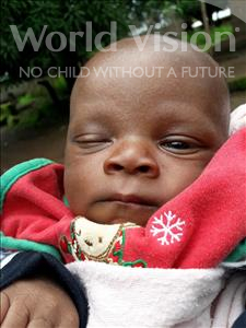 Choose a child to sponsor, like this little boy from Jaiama Bongor, Nyallay age under 1