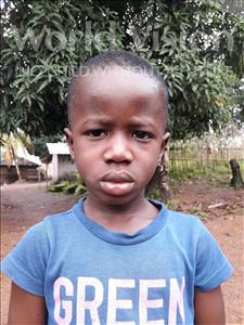 Choose a child to sponsor, like this little boy from Jaiama Bongor, Mustapha age 5