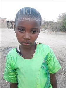 Choose a child to sponsor, like this little girl from Kilimatinde, Tuma Saidi age 6