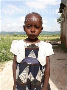 Choose a child to sponsor, like this little girl from Kilimatinde, Sarah Mussa age 4