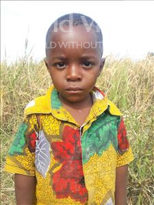 Choose a child to sponsor, like this little boy from Kilimatinde, Laurent Bakari age 2