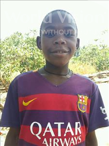 Choose a child to sponsor, like this little boy from Kibiga-Mulagi, VICENT age 10