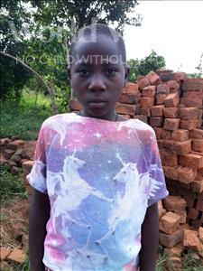 Choose a child to sponsor, like this little Girl from Kibiga-Mulagi, Caroline age 10