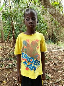 Choose a child to sponsor, like this little boy from Kibiga-Mulagi, Kevin age 8