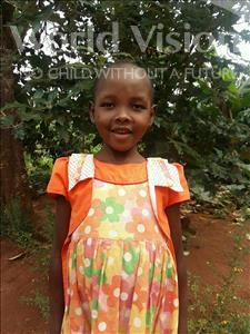 Choose a child to sponsor, like this little girl from Kibiga-Mulagi, Kelenia age 6