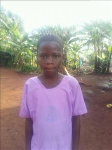 Resty, aged 9, from Uganda, is hoping for a World Vision sponsor