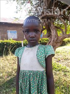 Choose a child to sponsor, like this little girl from Kibiga-Mulagi (Kimu), Charity age 6
