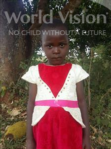 Choose a child to sponsor, like this little girl from Kibiga-Mulagi, Susan age 5