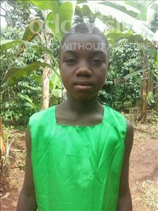 Nabulya, aged 9, from Uganda, is hoping for a World Vision sponsor