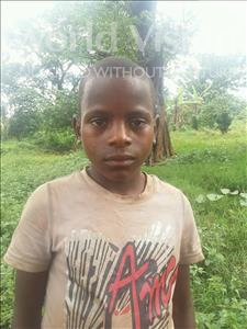Choose a child to sponsor, like this little boy from Kibiga-Mulagi, Vicent age 8