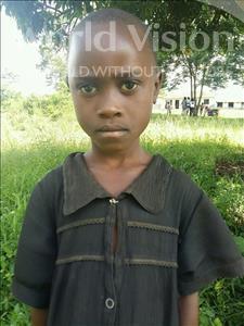 Choose a child to sponsor, like this little girl from Kibiga-Mulagi (Kimu), Edisa age 7
