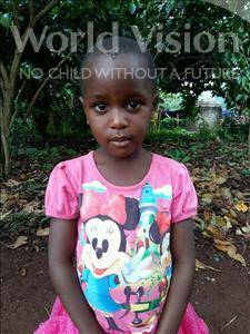 Choose a child to sponsor, like this little girl from Kibiga-Mulagi, Fatuma age 4