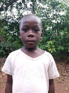 Choose a child to sponsor, like this little boy from Kibiga-Mulagi, Jemes age 4