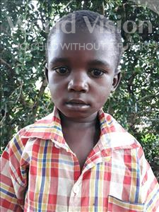 Choose a child to sponsor, like this little boy from Busitema, Meshack age 7